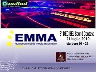 3° Decibel Sound Contest - Ostuni