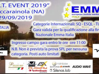 E.C.T. EVENT 2019 - Roccarainola (NA)