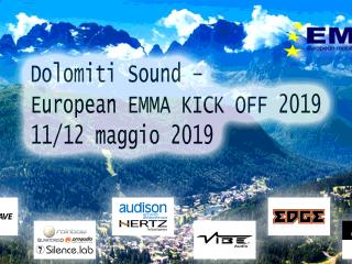 Dolomiti Sound – European EMMA KICK OFF 2019